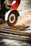 Electrical steel grinding Royalty Free Stock Photography