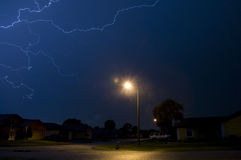 Electrical storm Royalty Free Stock Photos
