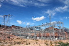 Electrical substation Stock Images
