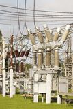 Electrical substation. Image of Electrical substation in Riga Stock Image