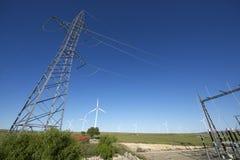 Electrical substation Stock Image