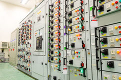 Electrical substation industrial plant Royalty Free Stock Photography