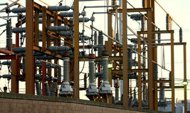 Electrical substation. Stock Images