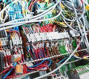 Electrical supplies closeup Stock Photo