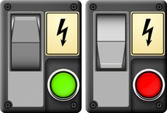 Electrical switch Stock Photos