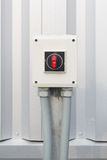 Electrical switch control Stock Image