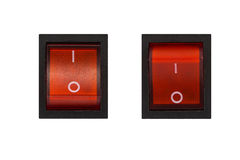 Electrical switch On Off. Royalty Free Stock Image