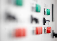 Electrical switch panel Royalty Free Stock Image