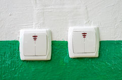 Electrical switches Stock Photos