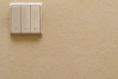 Electrical switches Royalty Free Stock Image