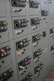 Electrical switchgear,Industrial electrical switch panel of power plant.  stock images