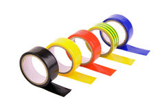 Electrical tape stock image