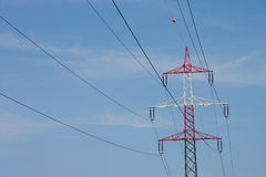 Electrical tower Royalty Free Stock Photo