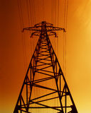 Electrical tower Royalty Free Stock Photos