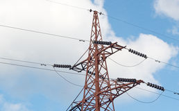 The Electrical tower Royalty Free Stock Images