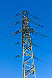 Electrical Tower In Industry Park Stock Photo