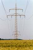 Electrical tower with power supply Stock Photos