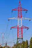 Electrical Tower / Utility Pole / Power Pole Royalty Free Stock Photography