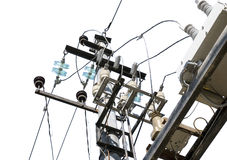 Electrical tower Stock Photography