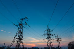 Electrical tower. Stock Images