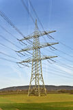 Electrical Tower With Sky Stock Photography