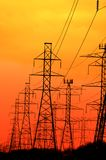 Electrical Towers Stock Photography