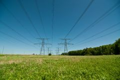 Electrical Towers (Electricity Pylons) Stock Photography