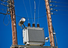 Electrical Transformer royalty free stock image