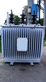 Electrical transformer Royalty Free Stock Images