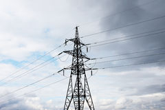 Electrical Transmission Line Stock Photo
