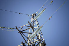 Electrical transmission tower Stock Photography