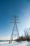 Electrical Transmission Tower (Electricity Pylon) Royalty Free Stock Photo