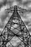 Electrical Transmission Tower. Image featuring an electrical transmission tower, which is used to carry electricity stock images