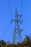 Electrical Transmission Tower. Electrical Line Transmission Tower in Thailand royalty free stock photos