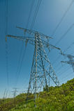 Electrical Transmission Towers (Pylons) Royalty Free Stock Photography