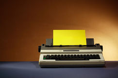 Electrical Typewriter Stock Photo