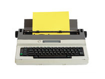 Electrical Typewriter Royalty Free Stock Photography