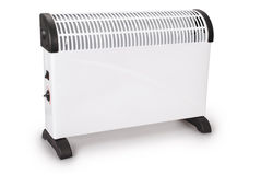 Electrical white modern heater (Clipping path) Royalty Free Stock Photo