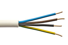 Electrical wire Stock Images