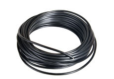 Electrical wire Stock Image