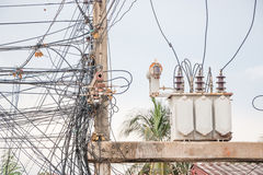 Electrical Wires Stock Photography
