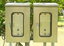 Electriccity箱子 库存照片