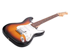 Electricguitar isolated on white background stock image