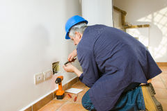 Electrician Royalty Free Stock Image