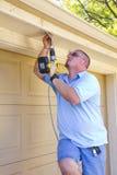 Electrician Installer royalty free stock photos