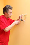 The electrician Royalty Free Stock Photography