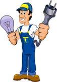 Electrician Cartoon Stock Images