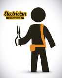 Electrician design Royalty Free Stock Photography