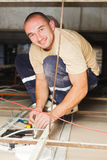 Electrician Man Working Stock Photos
