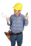 Electrician Not Plumber Royalty Free Stock Photo
